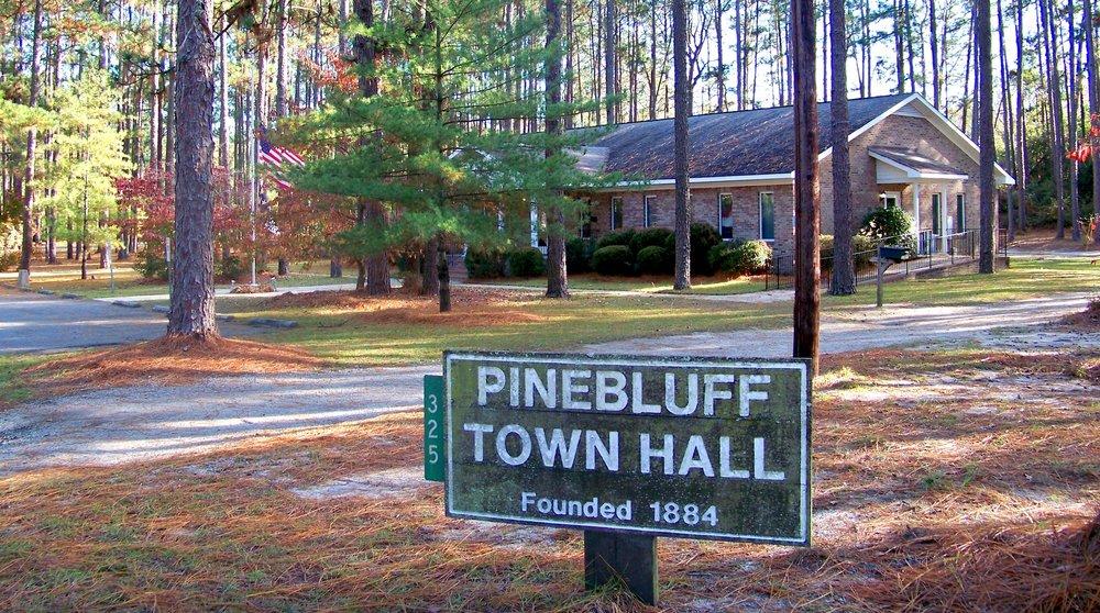 Pinebluff Banner